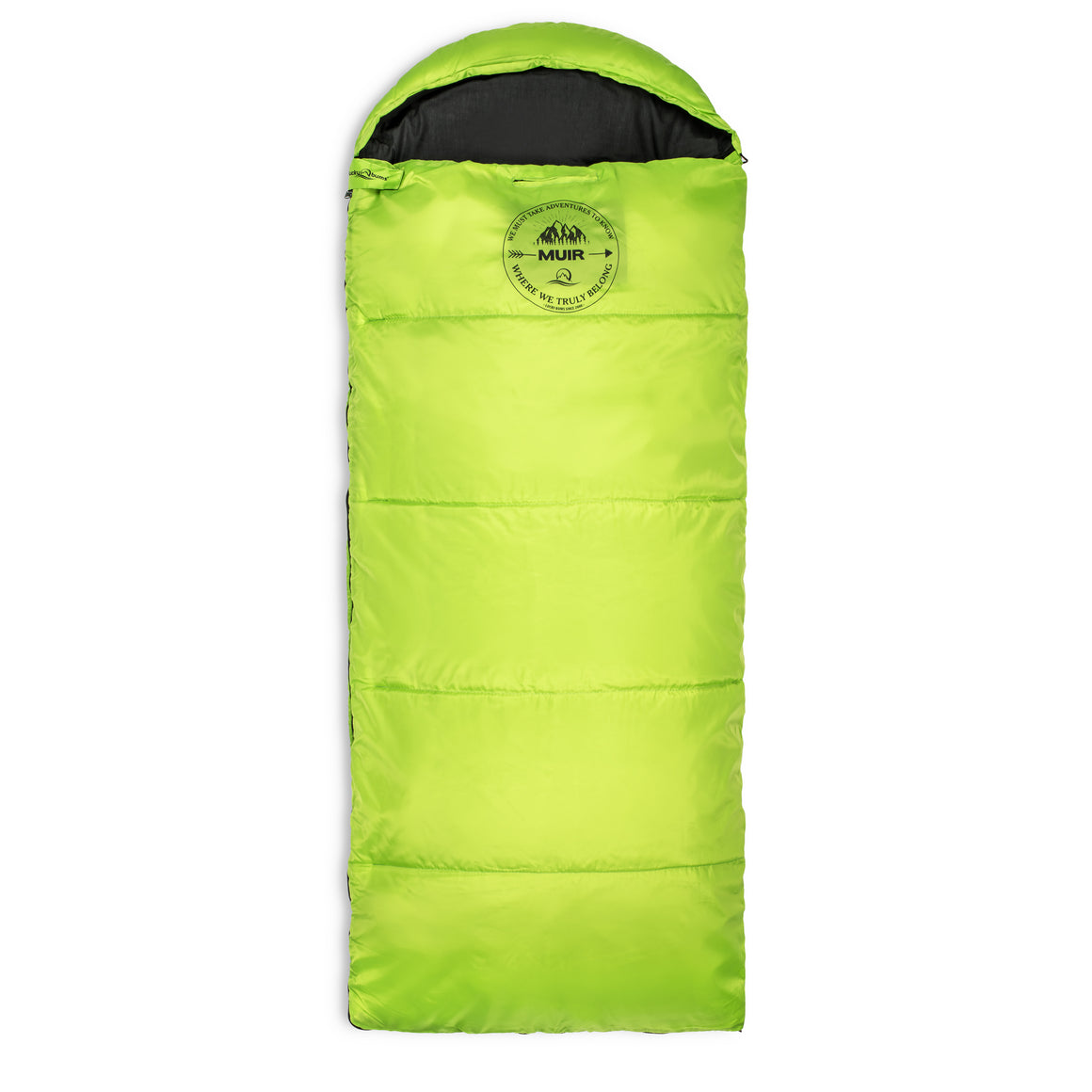 Lucky Bums Youth Muir Sleeping Bag 40°F/5°C with Compressing Carry Bag