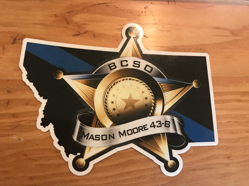 Memorial Car Decal