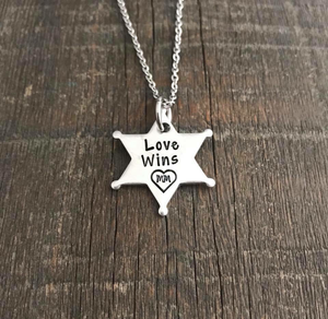Love Wins Star Necklace