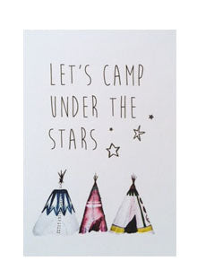 Let's camp under the stars