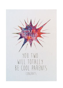 OMG! You two will totally be cool parents