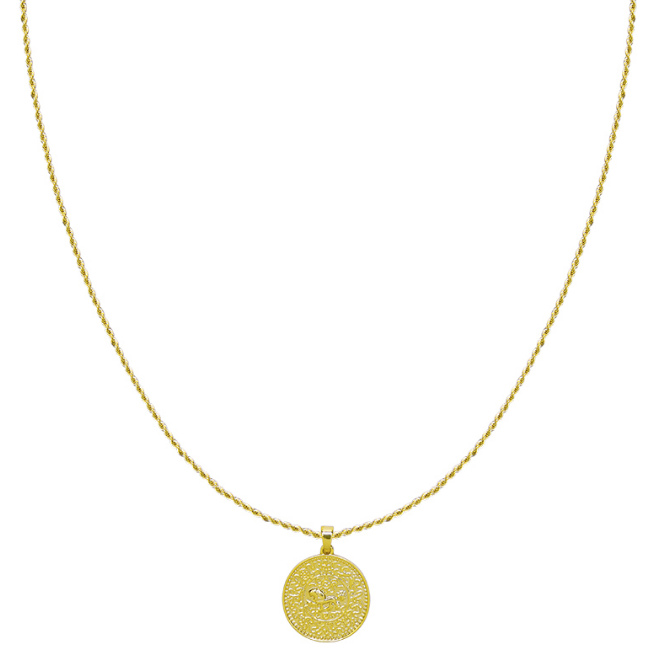 Necklace Big coin