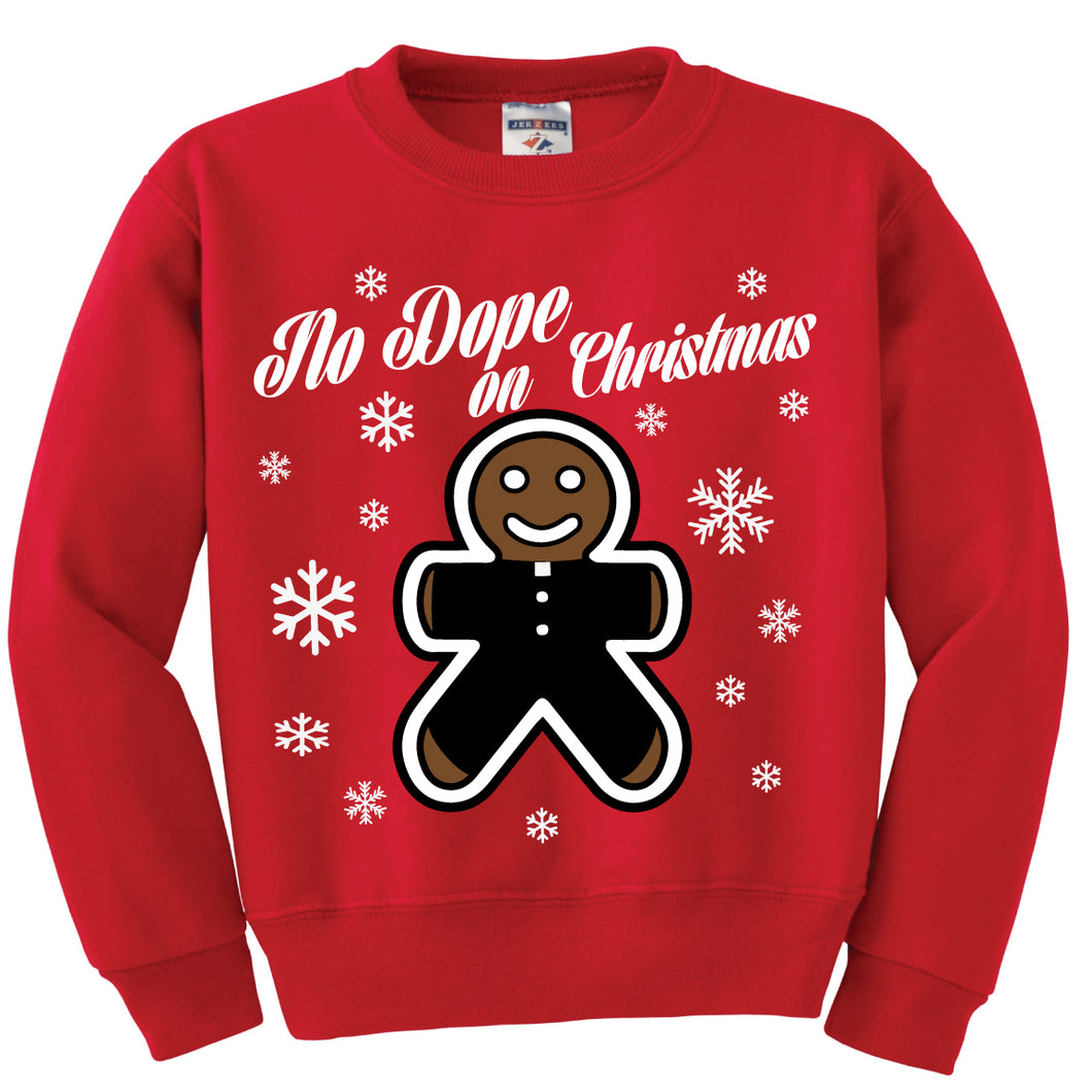 No Dope on Christmas Ugly Sweater