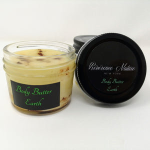 Body Butter EARTH with Cedarwood & Clary Sage (4oz)