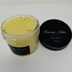 Body Butter WATER with Lemongrass & Sweet Orange (4oz)