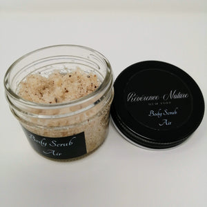Body Scrub AIR with Lavender & Rosemary (4oz)
