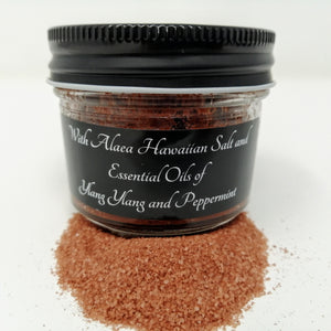 Body Scrub FIRE with Ylang Ylang & Peppermint (4oz)