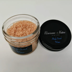 Body Scrub WATER with Lemongrass & Sweet Orange (4oz)