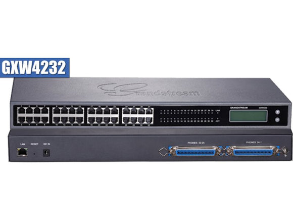 Grandstream GXW4232 Analog FXS IP Gateway 32 Port