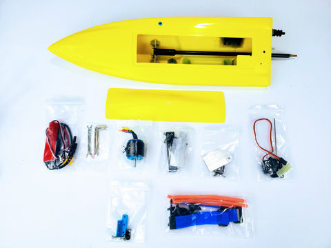 Mini-Dom Fiberglass Self Righting Mono Rc Boat (KIT)