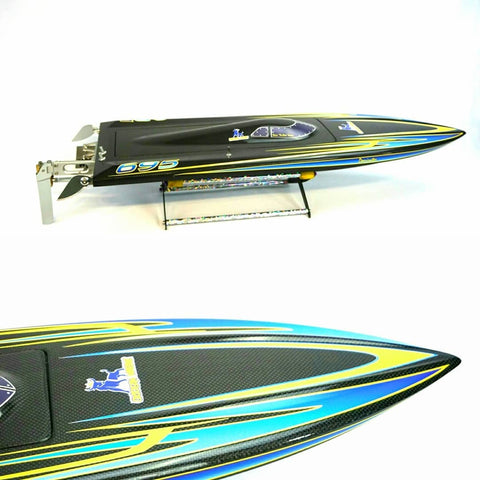 Rc Boat Graphics Dominator Mono No Bling