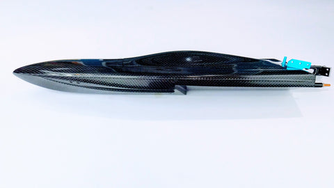 Mini-Dom Carbon Fiber Self Righting Mono Rc Boat (Kit)
