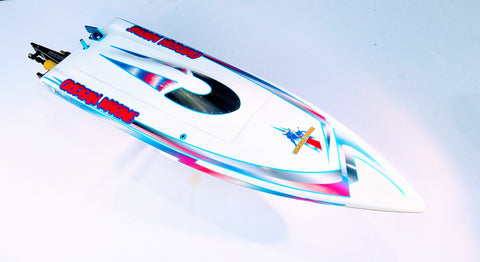 Mini-Dom Fiberglass Self Righting Mono ARTR Rc Boat
