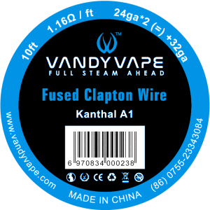 VandyVape Fused Clapton Wire - Seattle Vape Wholesale