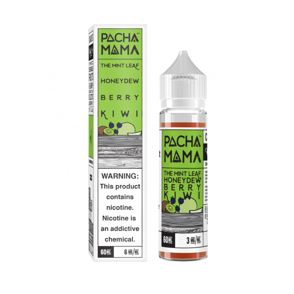 PACHAMAMA - THE MINT LEAF - 60ML - Seattle Vape Wholesale