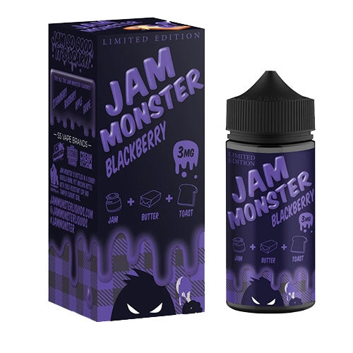 JAM MONSTER - BLACKBERRY JAM - Seattle Vape Wholesale