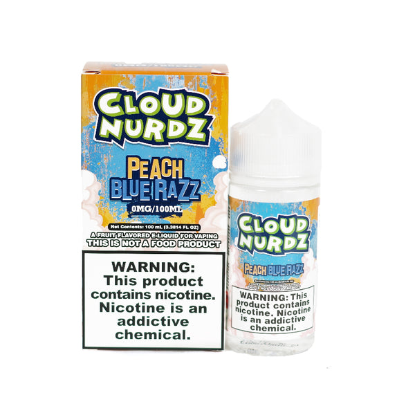 Cloud Nurdz - Peach Blue Razz