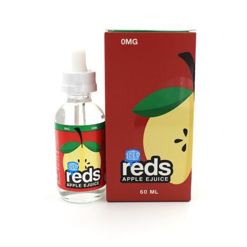 7DAZE - RED'S ICED APPLE EJUICE - Seattle Vape Wholesale