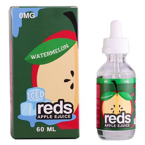 7DAZE - RED'S ICED WATERMELON EJUICE - Seattle Vape Wholesale