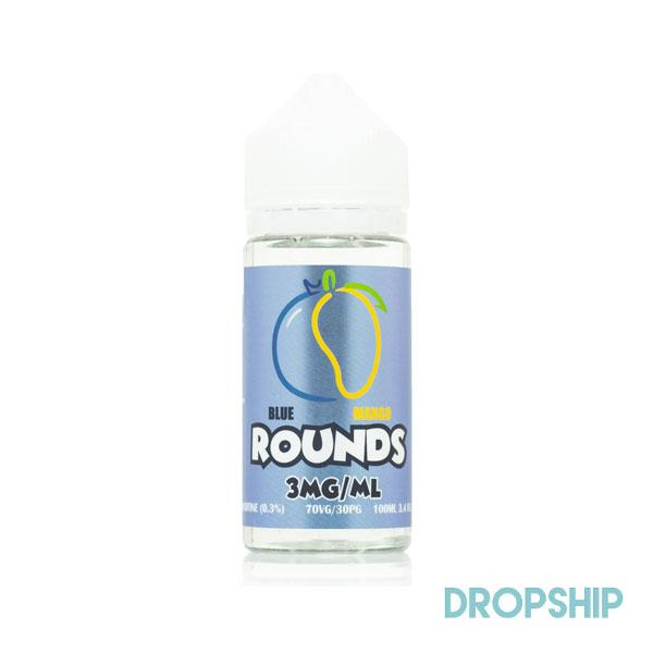 ROUNDS E-LIQUID - BLUE MANGO - Seattle Vape Wholesale