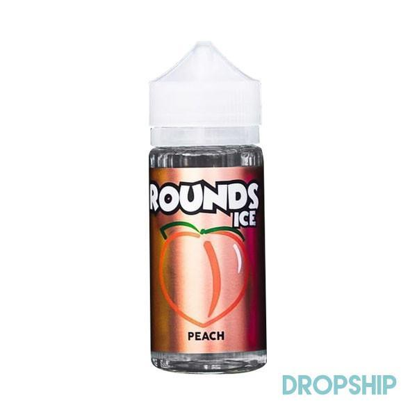 ROUNDS ICE - JUICY PEACHES - Seattle Vape Wholesale