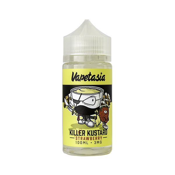 VAPETASIA - STRAWBERRY KILLER KUSTARD - Seattle Vape Wholesale