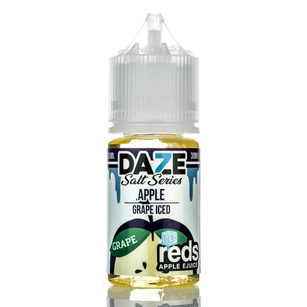 7DAZE - Red's Apple Grape Iced Salt - Seattle Vape Wholesale