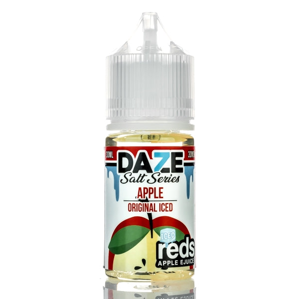 7DAZE - Red's Apple Iced Salt - Seattle Vape Wholesale