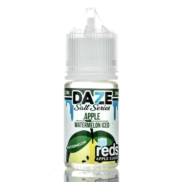 7DAZE - Red's Apple Watermelon Iced Salt - Seattle Vape Wholesale