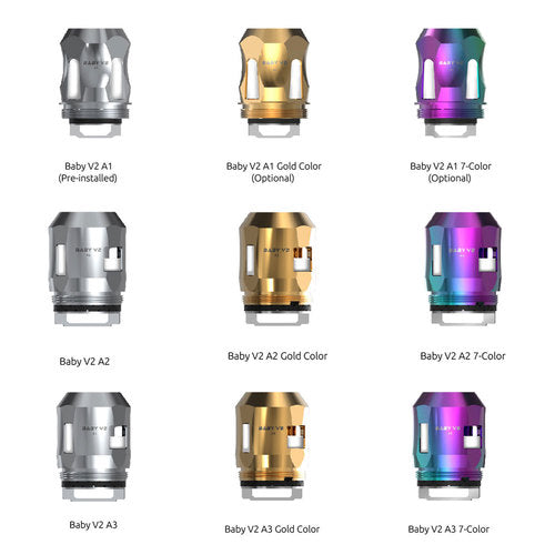 SMOK TFV8 Baby V2 A1/A2/A3 Coil 3PCS/Pack - Seattle Vape Wholesale