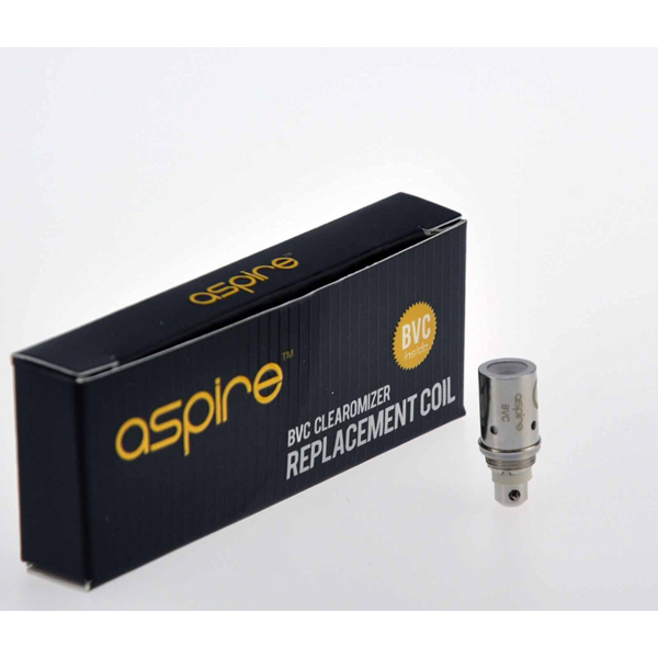 Aspire BVC Coil(1.8 & 2.1 ohm) - Seattle Vape Wholesale