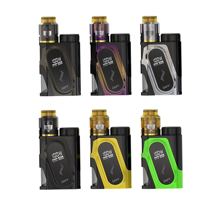 iJoy CAPO Squonk 20700 Battery Mod with Combo RDA Triangle Starter Kit - Seattle Vape Wholesale