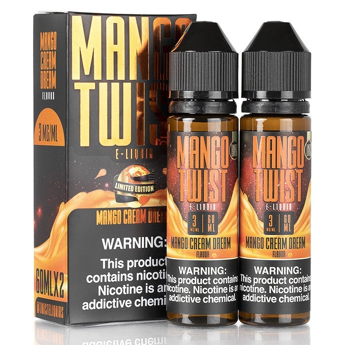 Mango Twist - Mango Cream Dream 120ML - Seattle Vape Wholesale