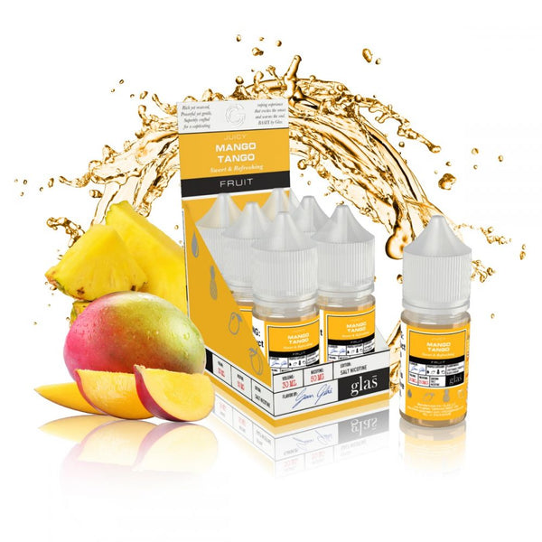 GLAS Basix Nic Salts - Mango Tango 50mg - Seattle Vape Wholesale