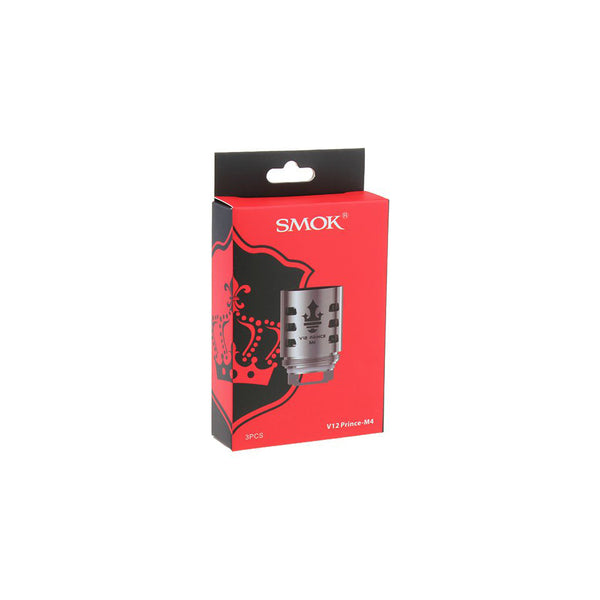 SMOK TFV12 Prince M4 REPLACEMENT COIL - 3 PACK - Seattle Vape Wholesale
