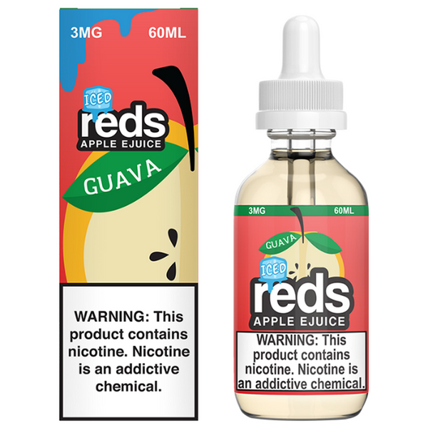 7DAZE - RED'S APPLE - GUAVA ICE EJUICE
