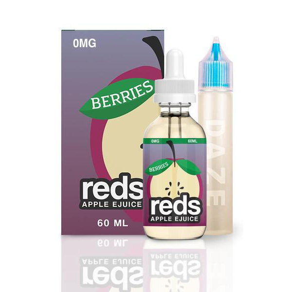 7DAZE - Reds Berry Ejuice - Seattle Vape Wholesale