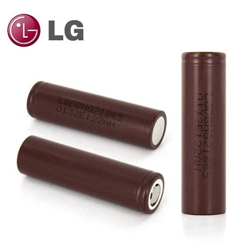 LG HG2 battery 18650 (2/pk) - Seattle Vape Wholesale