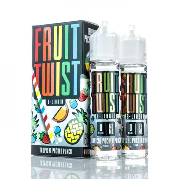 Fruit Twist - Tropical Pucker 120ML - Seattle Vape Wholesale