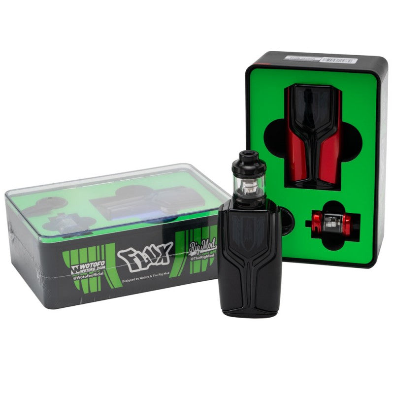 Wotofo & Rig Mod Flux Kit - Seattle Vape Wholesale