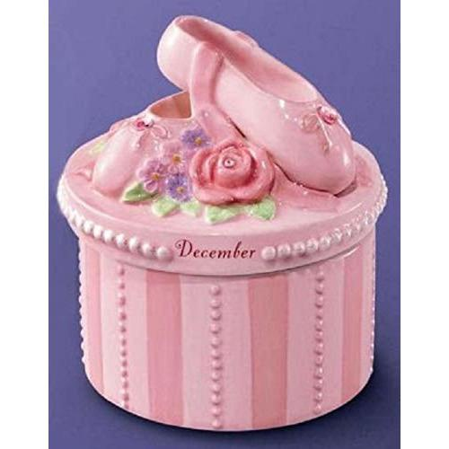 A Time to Dance STORAGE_BOX A Time to Dance Classics December Ballerina Trinket Box by Russ Berrie