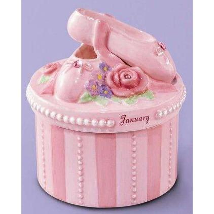 A Time to Dance STORAGE_BOX A Time to Dance Classics January Ballerina Trinket Box by Russ