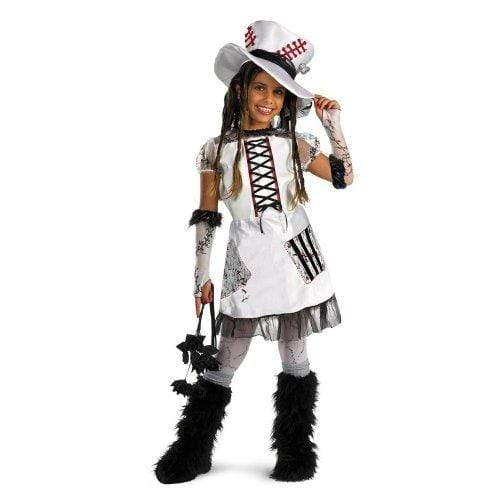 D|CEPTIONS 2 CHILDRENS_COSTUME D|CEPTIONS 2 Skeleton Bride - White - Size: Child M(7-8)