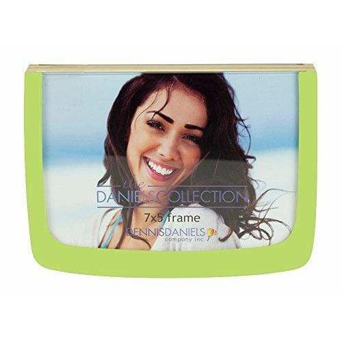 Dennis Daniels Designs Photography Double-sided glass and APPLE GREEN frame by Dennis Daniels - 5x7