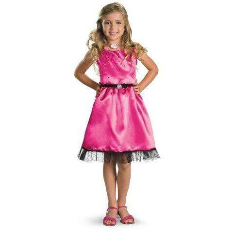 Disney APPAREL Small (4/6x) Sharpay's Fabulous Adventure - Sharpay's Pink Dress Child Costume