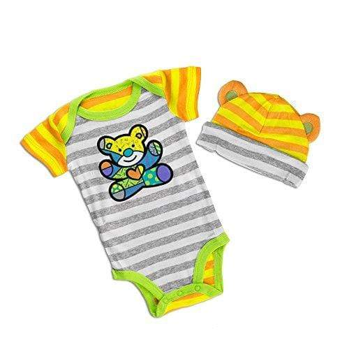 Enesco Apparel Enesco Britto Bebe - Universal Onesie And Hat