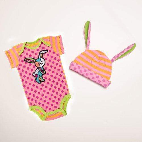Enesco Baby Product Britto Bebe Girl 0-6 Months Onesie and Hat