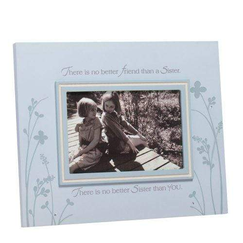 Enesco FIGURINE Enesco Foundations Sister Photo Frame, 8-Inch