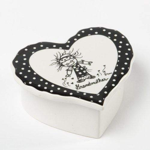 Enesco STORAGE_BOX Children of the Inner Light - Grandmother Heart Keepsake Box