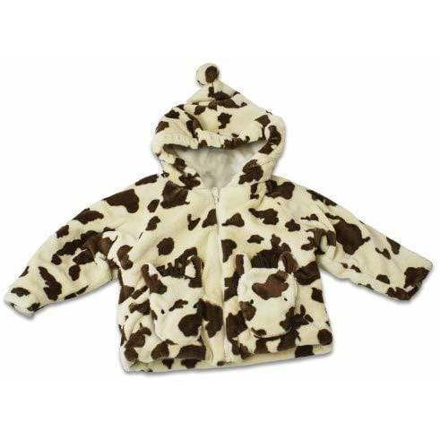 Fuzzy Wear Apparel Fuzzy Wear Tan and Brown Pinto Pony Hoodie Size 12-18 Months